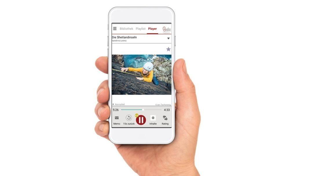 Kurzanleitung iOS der App Audiocont