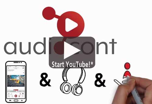 Startbutton Video Audiocont